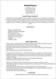 professional staff accountant resume templates to showcase your    resume templates  staff accountant resume