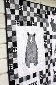 Best 25+ Black and white quilts ideas on Pinterest | Quilt ... & Thicket Black and White Baby Quilt Adamdwight.com