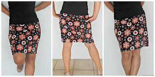 Simple Skirt Pattern Impressive 48 Minute Easy Skirt Pattern So Sew Easy