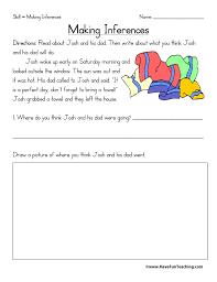 Making Inferences Worksheet | Have Fun Teaching