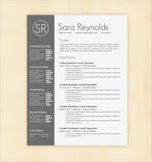 Modern Resume Template Free Download Best Of Graphic Design Resume
