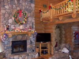 loft railing ideas. decoration marvelous log cabin loft railing ideas from unfinished maple wood with colored christmas light alongside