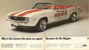 1969 Camaro Pace Car Replica Convertible: 12,753 Miles!
