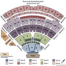 Nikon Seating Chart Nikon Beach Seating Chart Summer Concerts Outdoors At Jones