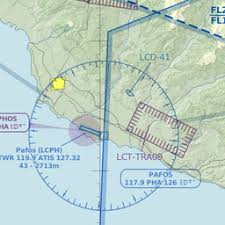 Pfo Paphos Intl Cy Airport Great Circle Mapper