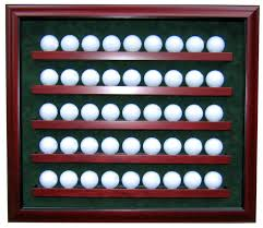 45 golf ball display case