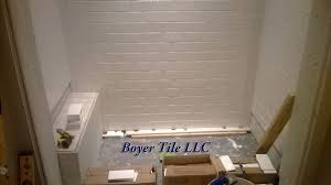 marvelous tile bathroom wall brick pattern pics ideas