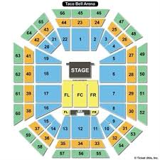 Taco Bell Arena Seating Taco Bell Arena Boise Idaho Seating