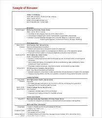 Consulting Resume Custom 60 Management Consulting Resume Templates PDF DOC Free Resume