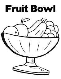 Small Picture Fruit Coloring Pages for childrens printable for free