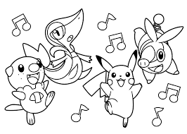 Small Picture Pokemon Coloring Pages Games Coloring Pages