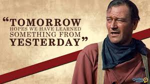 Famous John Wayne Movie Quotes