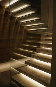 Under stairs lighting Recessed Lighting Lights Under Stair Treads Ieq Global Lights Under Stair Treads Hobbit Carriage House In 2019 Stairs