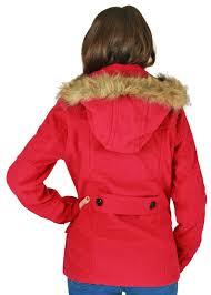 urban republic juniors double ted peacoat wool coat