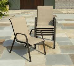 stacking outdoor chairs full size of sling patio chair in tan lounge c room essentials large