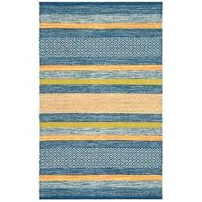 area rugs with orange accents hand woven blue cotton accent rug yellow a