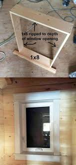Ana White | Build a Farmhouse Style Window Trim from Pine Boards | Free and  Easy