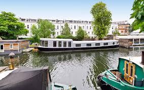 Richard Branson Houseboat London Little Venice Canal Boat Rental UK