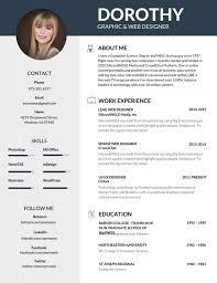 Impressive Resume 30 Most Impressive Resume Design Templates Designbold