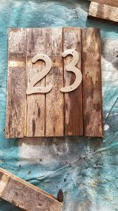Decorative House Numbers 17 Best Ideas About Rustic House Numbers On Pinterest Barn Wood