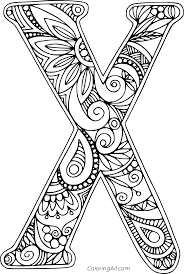 Top 10 letter 'x' coloring pages your toddler will love to learn & color. Beautiful Letter X Coloring Page Coloringall