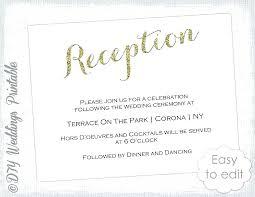 Wedding Reception Program Templates Template Inspiration Layout Free