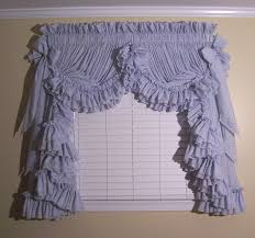 image detail for gingham ruffle curtains and ruffled priscilla curtains at delores