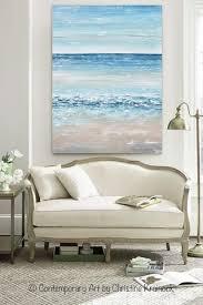 giclee print art abstract painting seascape beach ocean blue white grey beige coastal canvas art giclee print coastal and art decor on blue and white canvas wall art with giclee print art abstract painting seascape beach ocean blue white