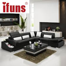 modern european living room furniture. ifuns recliner leather corner sofa set european style l shape modern sectional home living room furniture