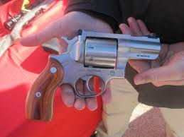 the ruger redhawk has a retion as one of the toughest double action revolvers ever made while normally chambered in larger calibers such as 41 magnum