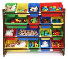 Tot Tutors Discover Super-Sized Toy Storage Organizer - Walnut/Espresso