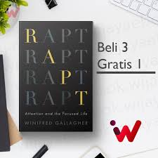 Jual Rapt: Attention and the Focused Life (by Winifred Gallagher) - Jakarta  Pusat - Wijaya Ebook | Tokopedia