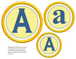 Printable Chevron Letters 3d Circle Printable Banner Letters A Z 0 9 Create A