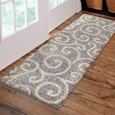better homes and gardens swirls soft area rug or runner com
