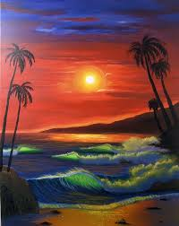 water sunset beach by rani priya mullane