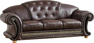 Versace Living Room Furniture Versace Brown Sofa Versace Esf Furniture Leather Sofas At Comfyco