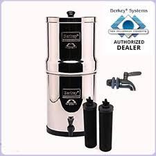 berkey water filter. Imperial Berkey Water Filter Purify W 2 Black Filters And Stainless Steel  Spigot Berkey Water Filter O