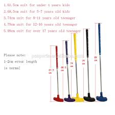 Putter Length Chart Mini Colourful Children Golf Club Double Sides Junior Golf Putters Golf Clubs Putter For Kids Buy Children Golf Putter Club Kids Putting Club Golf
