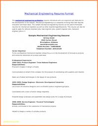 Experienced Professional Cover Letter Mechanical Engineering Resumes Diploma Resume Format