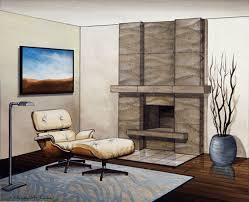 alluring stacked stone fireplace mantel kits surround with wooden floor and led tv on wall