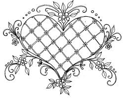 Reat pictures designed with adults in mind. Heart Coloring Pages For Adults