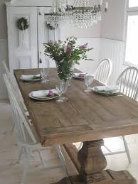 love the french farmhouse table would love benches along the sides and two chairs find this pin and more on dining room