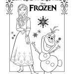 Disegni Da Colorare Di Frozen Da Stampare Gratis