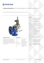 Anderson Greenwood Safety And Relief Valves Series 200 400 500