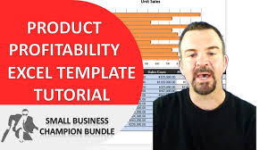 Product Profitability Analysis Excel Product Profitability Analysis Excel Template Spreadsheet Tutorial