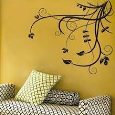 sun wall decal trendy designs: floral adornment wall decal trendy wall designs