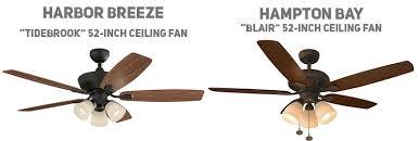 hampton bay vs harbor breeze which is