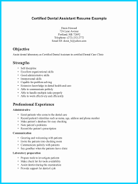Examples Of Dental Assistant Resumes Dental Assistant Resume Samples Luxury Dental Assistant Resume Tips 3