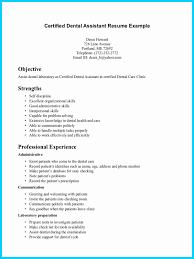 Dental Assistant Resume Example Dental Assistant Resume Samples Luxury Dental Assistant Resume Tips 5
