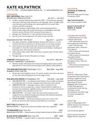 Project Manager Journalist Cv Sample Resume Career Help Broadcast
